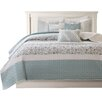 Madison Park Dawn 6 Piece Quilted Coverlet Set