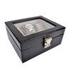 Royce Leather Luxury 6 Slot Watch Jewelry Box in Genuine Leather