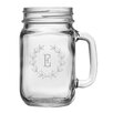 Susquehanna Glass Personalized 16 oz. Mason Jar (Set of 4)