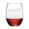 Susquehanna Glass Woof 21 oz. Stemless Wine Glass (Set of 4)