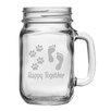 Susquehanna Glass 4 Piece Mason Jar (Set of 4)