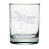Susquehanna Glass Dragonfly Rocks Glass (Set of 4)
