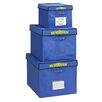 Bin Warehouse 22 Gallon Fold-A-Tote 4 Pack