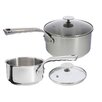 de Buyer Milady 2-Piece Saucepan Set with Lids
