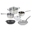 de Buyer Mineral B Element 5-Piece Non-Stick Cookware Set