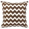 Greendale Home Fashions Chevron Cotton Canvas Throw Pillow