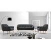 VIG Furniture Divani Casa Afton 3 Piece Living Room Set