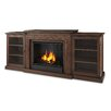 Real Flame Frederick TV Stand with Gel Fuel Fireplace