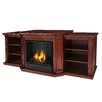 Real Flame Valmont TV Stand with Gel Fuel Fireplace