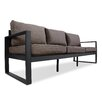 Real Flame Baltic Sofa with Cushion