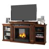 Real Flame Calie TV Stand and Gel Fuel Fireplace