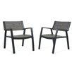 Real Flame Anson Dining Arm Chair (Set of 2)