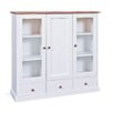 Interlink Solid Pine China Cabinet