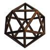 Authentic Models Da Vinci Icosahedron Platonic Sculpture