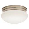 Lithonia Lighting LED Mushroom 1 Light Flush Mount