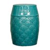 New Pacific Direct Spear Ceramic Garden Stool