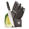 Hampton Forge Essenstahl 15 Piece Claridge Knife Block Set