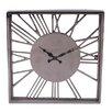 BIDKhome Fall Aluminum Relief Numeral Clock