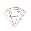 BIDKhome Hide Diamond Christmas Ornament (Set of 6)