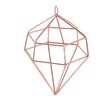 BIDKhome Hide Diamond Christmas Ornament with Loop (Set of 6)