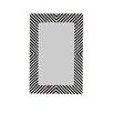 BIDKhome Inlay Rectangular Wall Mirror