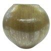 BIDKhome Vertical Hand-Cut Glass Vase