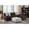 Poundex Bobkona Samuel Right Hand Facing Sectional