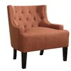 Poundex Bobkona Ansley Blended Linen Arm Chair