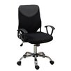 Poundex Mid-Back Mesh Task Chair with Arms