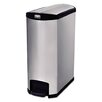 Rubbermaid Commercial Products Slim Jim® 8-Gal Step-On Container Trash Bin