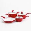 Sunbeam Acerra 7-Piece Ceramic Cookware Set