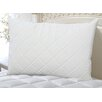 Perfect Fit Industries Wellrest Quilted Memory Foam Pad and Pillow Enhancer Set