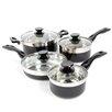 Oster Cramerton 8 Piece Stainless Steel Cookware Set