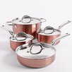 Oster Brookfield 8 Piece Stainless Steel Cookware Set