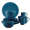 Dansk The Burbs Carved Medium 16 Piece Dinnerware Set