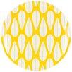 """Dansk The Burbs Sunflower 9"""" Melamine Salad Plate"""
