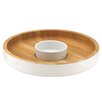 Dansk The Burbs Wood Chip & Dip Tray