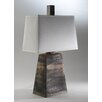"Studio A Pyramid To The Moon 31.5"" H Table Lamp with Empire Shade"