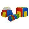 GigaTent Multiplex 24 Balls with 3 Piece Tunnel Set