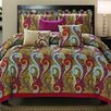 Luxury Home Manchester 6 Piece Comforter Set