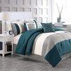 Luxury Home Mandarin 6 Piece Comforter Set