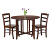 Luxury Home Alamo 3 Piece Dining Set