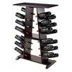 Luxury Home Marlo 24 Bottle Floor Wine Rack