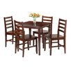 Luxury Home Kingsgate 5 Piece Dining Set