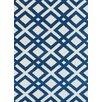 Luxury Home Cyprus Cream/Blue Area Rug
