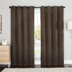 Luxury Home Palmer Curtain Panel (Set of 2)