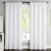 Luxury Home Amber Curtain Panels (Set of 2)