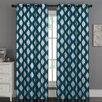 Luxury Home Sorrento Curtain Panels (Set of 2)