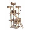 "Kitty Mansions 73"" Bel Air Cat Tree"
