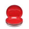 "Rachael Ray Round & Square 9.5"" Salad Plate 4 Piece Set (Set of 4)"